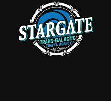 Stargate - Trans-galactic travel agency - blue Unisex T-Shirt