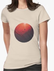 Astral Projection Womens Fitted T-Shirt