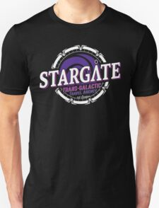 Stargate - Trans-galactic travel agency - purple T-Shirt