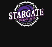 Stargate - Trans-galactic travel agency - purple Unisex T-Shirt