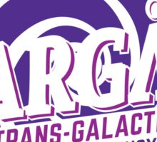 Stargate - Trans-galactic travel agency - purple Sticker