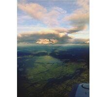 Cloud sunlight  Photographic Print