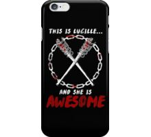 Lucille = Awesome iPhone Case/Skin