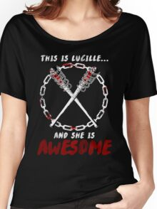 Lucille = Awesome Women's Relaxed Fit T-Shirt