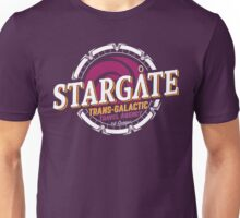 Stargate - Trans-galactic travel agency - yellow Unisex T-Shirt