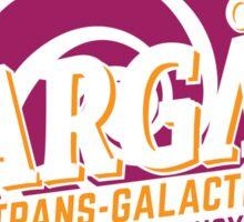 Stargate - Trans-galactic travel agency - yellow Sticker