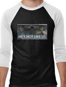 He's Not Like Us Men's Baseball ¾ T-Shirt