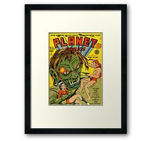 Planet Comics Framed Print