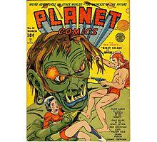 Planet Comics Photographic Print
