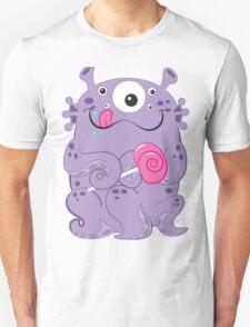 Sea Monsters Love Lollipops Unisex T-Shirt