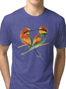Lover Birds Tri-blend T-Shirt