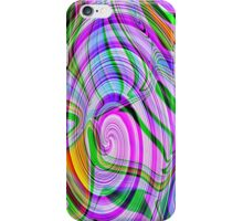 70's Psychedelic Abstract* iPhone Case/Skin