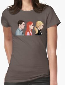 BTVS - Scoobies Womens Fitted T-Shirt