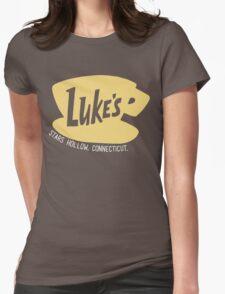 Luke's Diner - Gilmore Girls Womens Fitted T-Shirt