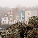 Weymouth harbour by Jennifer Bradford
