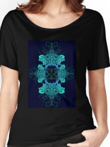 Henna Spirograph  Women's Relaxed Fit T-Shirt