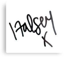 halsey signature Metal Print