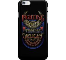 Fighting Evil iPhone Case/Skin