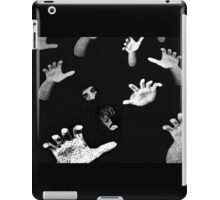 Shadow in the Crowd iPad Case/Skin