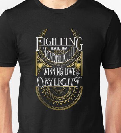 Fighting Evil (Gold) Unisex T-Shirt