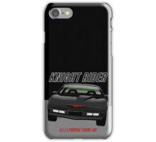 Knight Rider Pontiac Trans Am 1982 iPhone Case/Skin