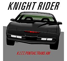 Knight Rider Pontiac Trans Am 1982 Photographic Print