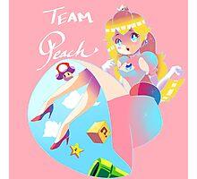 Team Peach Photographic Print