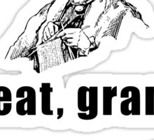 Lets Eat Grandma Sticker