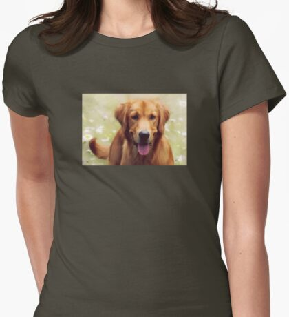 Good Boy Womens Fitted T-Shirt