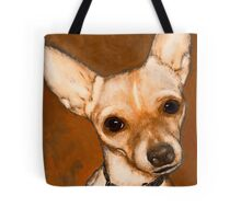 Chihuahua Dog Portrait  Tote Bag