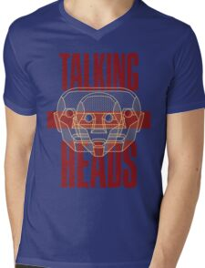 Talking Heads Mens V-Neck T-Shirt