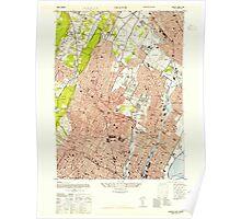 USGS TOPO Map New Jersey NJ Orange 254673 1947 24000 Poster