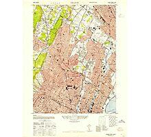 USGS TOPO Map New Jersey NJ Orange 254673 1947 24000 Photographic Print