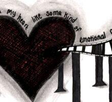Hole In My Heart Sticker