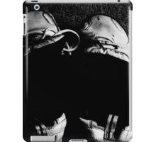 value means survival iPad Case/Skin