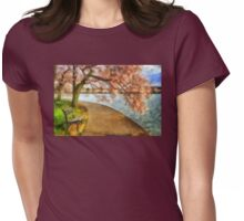 The Cherry Blossom Festival Womens Fitted T-Shirt