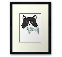 Bow Tie Jemima Framed Print