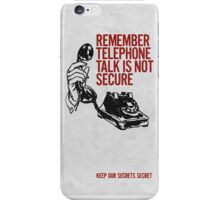 Telephone Talk Phone Case iPhone Case/Skin