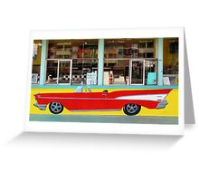 Drive_In Classic  Greeting Card