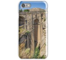 Puente Nuevo Bridge, Ronda, Andalucia, Spain iPhone Case/Skin