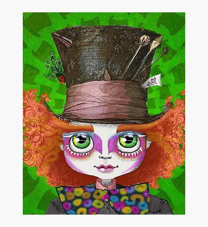 "Johnny Depp as Mad Hatter in Tim Burton's ""Alice in Wonderland"" Photographic Print"