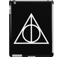 Deathy Hallows pattern iPad Case/Skin