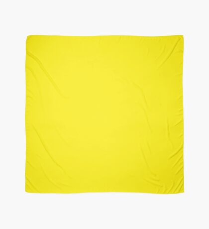 Canary Yellow  Scarf