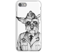 Canadian Military Dog  iPhone Case/Skin