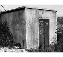 Memphis Graffiti Sequel - Black and White Photographic Print