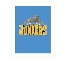 Jakku Junkers - Star Wars Sports Teams Art Print