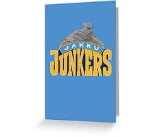 Jakku Junkers - Star Wars Sports Teams Greeting Card
