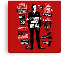 Moriarty Real Red Canvas Print