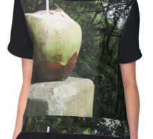 A Drink in the Forest  Chiffon Top