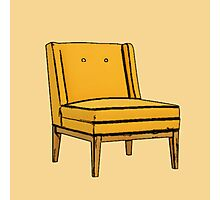 Yellow Chair Photographic Print